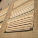 Linen-Fold Hand Carved Panels